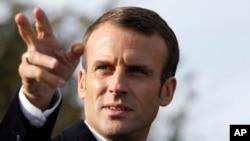 Tổng thống Pháp Emmanuel Macron là mục tiêu của một âm mưu tấn công