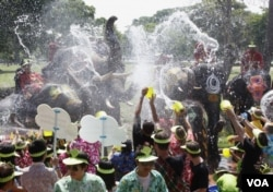 Thailand's Songkran water festival, held in April (Photo: Reuters). Is this part of my identity?
