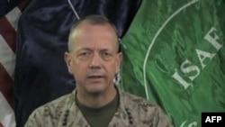 Командувач міжнародними силами в Афганістані американський генерал Джон Аллен