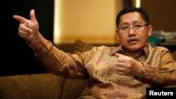 Anas Urbaningrum, Ketua Umum Partai Demokrat resmi dinyatakan KPK sebagai tersangka kasus dugaan korupsi Hambalang (foto: dok).
