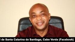 Beto Alves, presidente da Câmara Municipal de Santa Catarina de Santiago, Cabo Verde