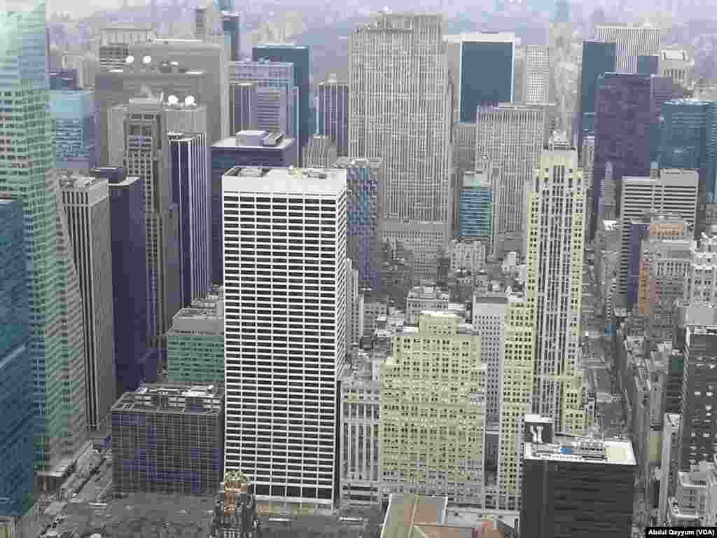 نیو یارک سٹی کا فضائی منظر