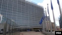 벨기에 브뤼셀의 유럽연합 본부. (자료사진)