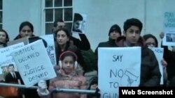 شاہ زیب کے قتل کے خلاف سول سوسائٹی کا مظاہرہ، فائل فوٹو