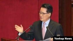 한국 민주통합당 박지원 의원. (자료사진)