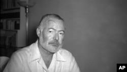 ერნესტ ჰემინგუეი ჰავანაში, კუბა. 1950 წლის 21 აგვისტო