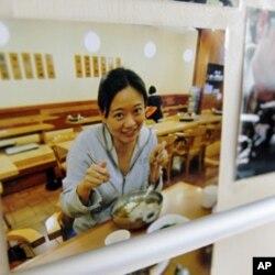 半島電視台駐京記者陳嘉韻(資料圖片)
