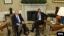 """La conversación de los dos dirigentes fue telefónica dijo la Casa Blanca. Están de """"acuerdo"""" en impedir que Irán se arme."""