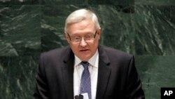 Thứ trưởng Ngoại giao Nga Sergei Ryabkov.