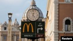 Vatican McDonald's