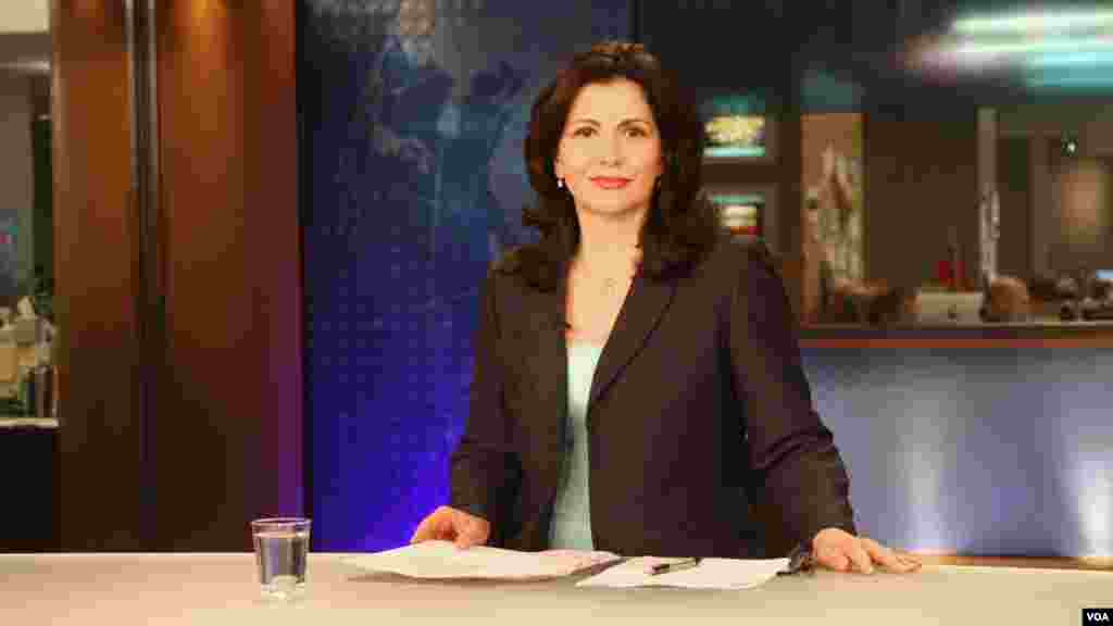 Laura Konda is the main anchor of Ditari, a popular daily Albanian-language TV show. Konda joined VOA in 1998 and is one of most recognizable TV broadcasters in Albania and Kosovo. She was previously a professor of English and literature at the University of Tirana in Tirana, Albania.