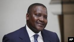 Ông Aliko Dangote, người giàu nhất Châu Phi