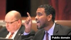 Miseensa Mana Marii magaalaa Minniyapoolis,Abdii Warsamee