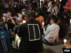 """港支联会6月29日晚8点在中环终审法院旁空地举行""""释放刘晓波""""烛光集会"""
