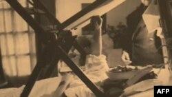 Frida Kalo u bolničkom krevetu
