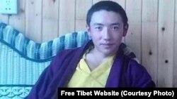 2013年11月11日自焚的青海省班玛县阿什琼寺僧人次仁杰。
