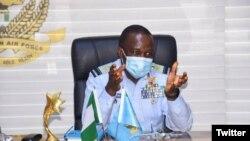 Babban Hafsan Sojin Saman Najeriya, Air Marshal Oladayo Amao (Hoto: NAF Twitter)