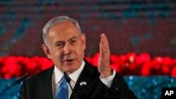 PM Israel Benjamin Netanyahu di Yerusalem, 23 Januari 2020.
