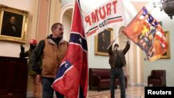 Trump supporters storm U.S Capitol Hill