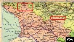ტერიტორიები, რომლებიც 1944 წელს დეპორტირებულ ჩრდილო კავკასიელ ხალხებს საქართველომ უკან დაუბრუნა