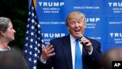 Donald Trump figura en segundo lugar de popularidad entre los 14 candidatos a la nominación presidencial republicana.