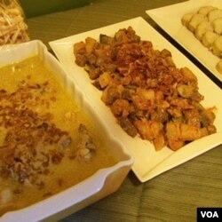 Berbagai hidangan lebaran khas tanah air akan disajikan pada berbagai acara halal bihalal masyarakat Indonesia di Amerika.