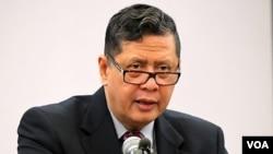 Pelapor khusus PBB, Marzuki Darusman mengimbau Dewan HAM PBB untuk memerintahkan penyelidikan terhadap pelanggaran HAM di Korea Utara (foto: dok).