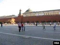 莫斯科红场和克里姆林宫。如何定义普京体制难达成共识。