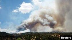 華爾道谷山火