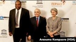 Lancement du projet Heritage du Film Africain lors de la signature du partenariat entre la Film Foundation de Martin's Scorsese, la FEPACI, et l'UNESCO