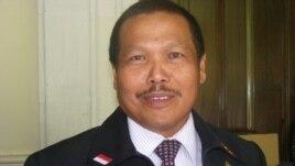 Direktur Narkotika Polda Bali Kombes Pol. Mulyadi. (VOA/Muliarta)