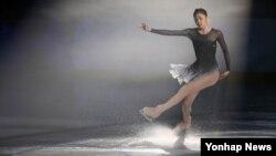 5일 2013평창 동계스페셜올림픽 폐막식에서 공연하는 김연아. (자료사진)