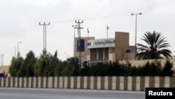 Pusat Pelatihan Keamanan Internasional Yordania di Mwaqar, dekat Amman.