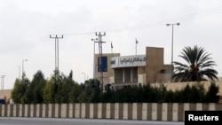 요르단 암만 외곽에 미국과 요르단 정부 합의로 지어진 경찰훈련소 건물. (자료사진)