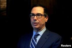 Steve Mnuchin, secretario del Tesoro de EE.UU.