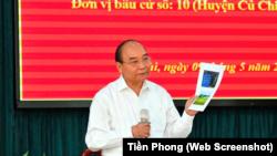 """Ông Nguyễn Xuân Phúc nói: """"...nếu dân chủ tào lao, không có kỷ cương phép nước thì đất nước sẽ loạn."""""""