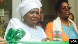 Nkosazana Dlamini Zuma officially opens Africa House in Washington DC. (Photo: Sandra Nyaira)