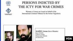 Srbija: Uhapšen i Goran Hadžić
