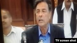 Menteri dalam negeri Punjab Shuja Khanzada