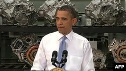 Tổng thống Hoa Kỳ Barack Obama nói về tầm quan trọng của việc huấn luyện và chuẩn bị lực lượng lao động Mỹ để tham gia vào khu vực sản xuất trên khắp nước