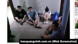 5 người TQ bị bắt quả tang sử dụng thiết bị kích sóng di động tại nhà trọ.