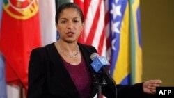 Đại sứ Hoa Kỳ tại Liên Hiệp Quốc Susan Rice 6 người này đe dọa đến nền hòa bình và hy vọng về ổn định trong khu vực và bà cảnh cáo rằng những hành động như thế sẽ không được tha thứ