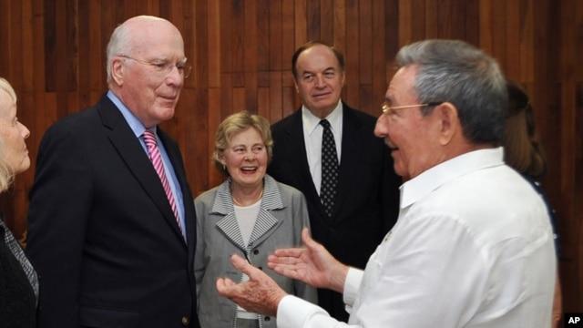 Senator Patrik Lexy 2012-yil fevralida ham Kubada bo'lgan