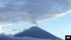 Gunung Agung di Karangasem, Bali (Foto: dok).