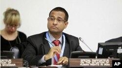 Điều tra viên đặc biệt Liên Hiệp Quốc Ahmed Shaheed nói ông nhận được nhiều tố cáo bạo hành tại Iran