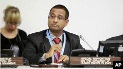 BMT-nin İranda insan haqları üzrə xüsusi nümayəndəsi Əhməd Şahid