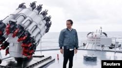 Presiden Joko Widodo mengunjungi Kepulauan Natuna di bulan Juli. (Foto: dok.)