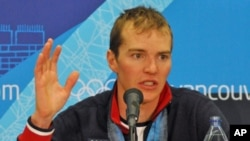 American Nordic Combined skier Billy DeMong