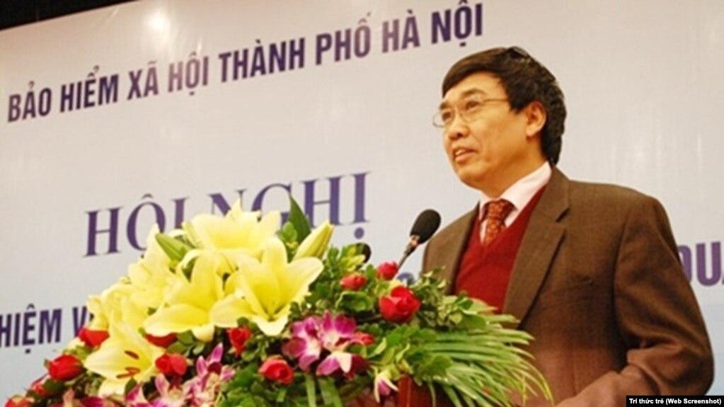 Tư liệu: Cựu Thứ Trưởng Bộ Lao Động-Thương binh-Xã Hội Việt Nam Lê Bạch Hồng (Web Screenshot)