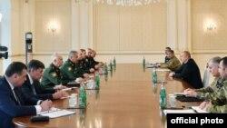 Rusiya nümayəndə heyəti Azərbaycan prezidenti ilə görüşüb